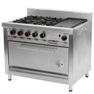 Cocina Morelli 4 Hornallas, Plancha Y Horno Modelo: Nova 1100