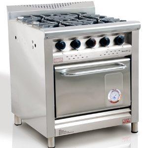 Cocina Morelli 4 Hornallas Y Horno Modelo: Nova 750