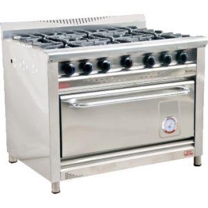 Cocina Morelli 6 Hornallas Y Horno Modelo: Nova 1100
