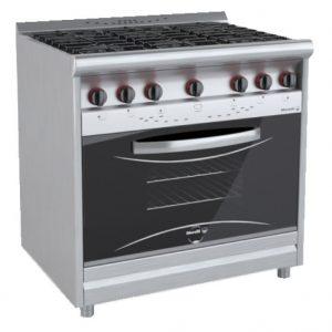 Cocina Morelli 6 Hornallas Y Horno Modelo: CHEFF 900