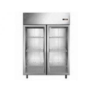 Freezer Vertical Jameco 2 Puertas De Vidrio Modelo: JA-2400