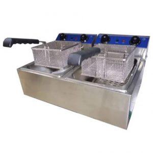 Fritador Lundar Eléctrico 6+6 Lts. Modelo: EF-102